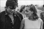 Alain Delon and Romy Schneider, 1968 © Jean-Pierre Bonnotte