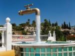 Cadiz, Ισπανία. Μνημείο νερό