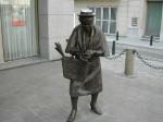 Βρυξέλλες, Βέλγιο. Μνημείο συνταξιούχο...