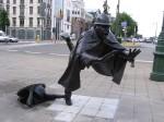 Βρυξέλλες, Βέλγιο. Μνημείο της αστυνομίας