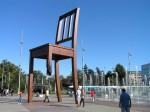 Γενεύη, Ελβετία. Μνημείο για τα θύματα των ναρκών