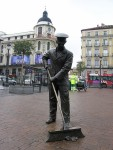 Μαδρίτη, Ισπανία. Μνημείο επιστάτη