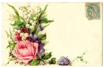 floral spray vintage