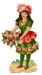 flowerRose-girl-