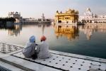 Golden Temple, Amritsar, India, 50 Years After, September, 1996