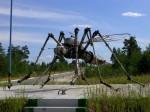 Noyabrsk, Ρωσία. Μνημείο κουνουπιών