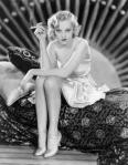 Actress Sheila Terry smoking.