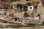Cave Homes in Bamiyan, Afghanistan