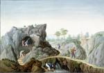 Mining the Kaolin, c. 1825 Guangzhou, china Gouache on pape