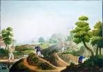 Mining the Petuntse, ca.1825 Guangzhou,