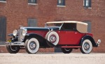 1936 Duesenberg Model J Convertible Victoria with coachwork by Rollston.