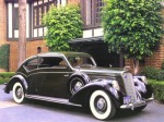 1938 Lincoln Model K coupe with custom coachwork by Judkins.