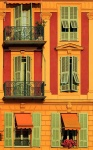 Balconies and Shutters, Nice, France