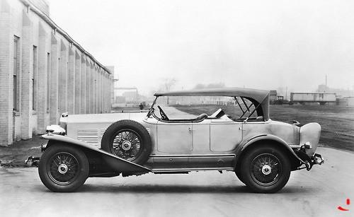 1929 Lincoln LeBaron Phaeton