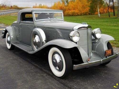 1931 Marmon Sixteen LeBaron convertible coupe