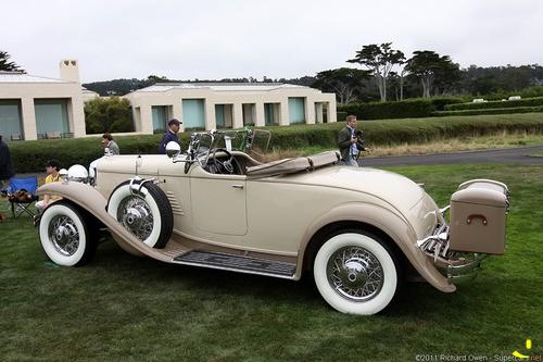 1933 Stutz DV-32 LeBaron Roadster