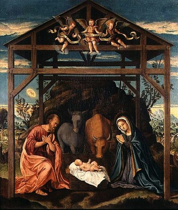 Girolamo del Pacchia( 1477-1535)       Nativity