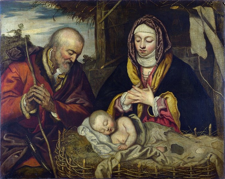 Follower of Jacopo Tintoretto                The Nativity