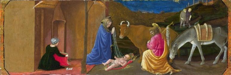 Master of the Castello Nativity (active mid-15th century) The Nativity