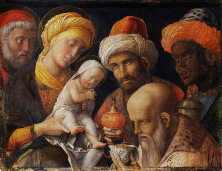 Mantegna Andrea The Adoration of the Magi,1462