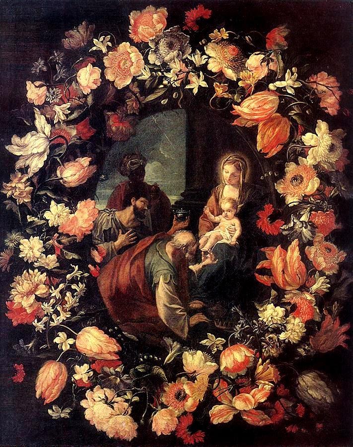 Carlo Maratti(1625-1713)-The Adoration of the Magi
