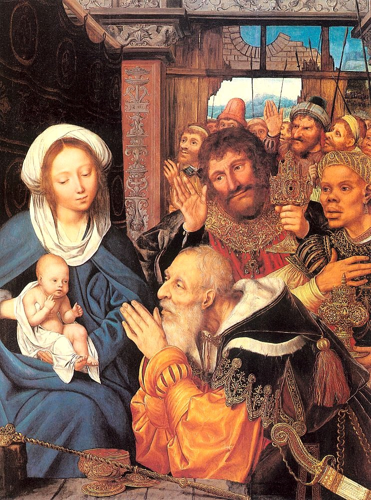 Quentin Massys - 1526 - ΤΗE ADORATION OF THE MAGI