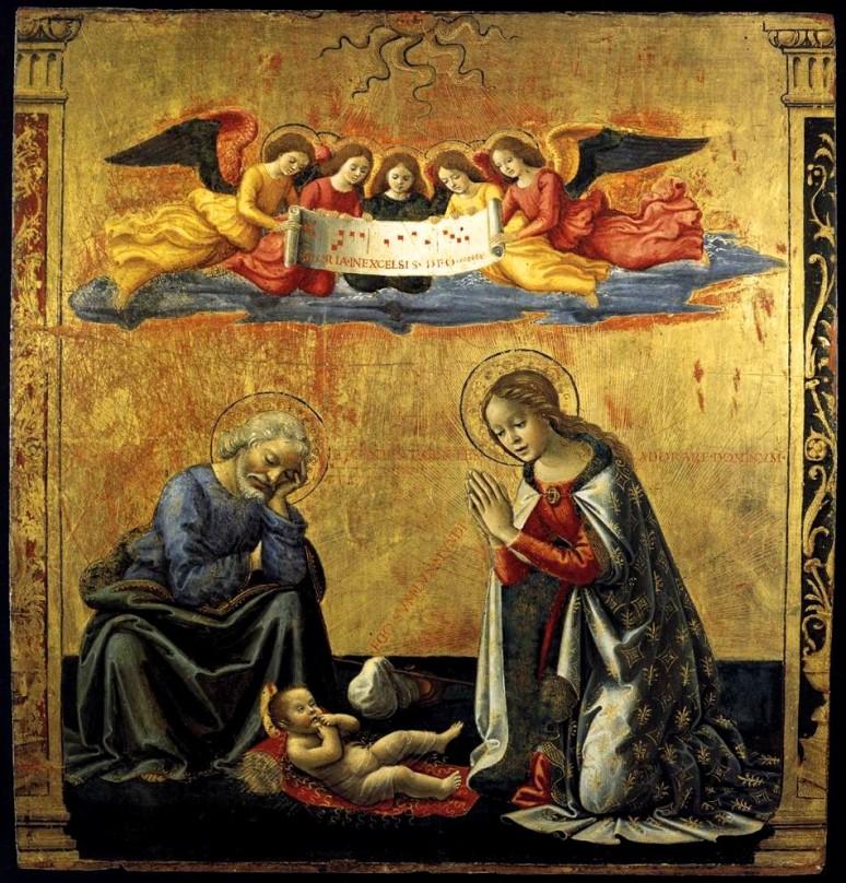 Domenico Ghirlandaio 1492 - THE NATIVITY