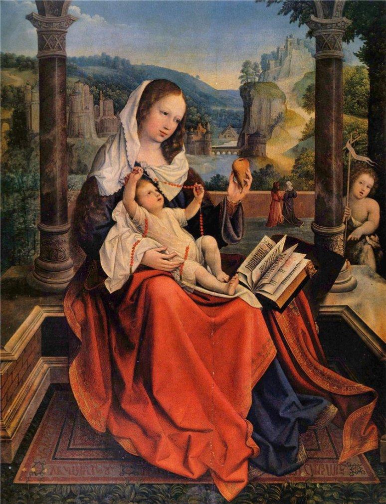 Bernaert van Orley- 1515 -Virgin and Child,