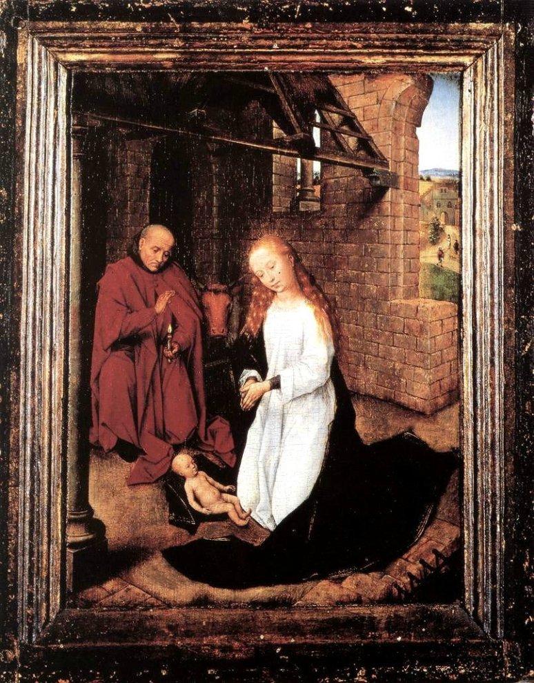 Hans Memling-The Nativity,1470-72
