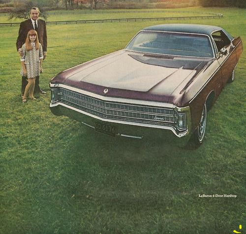 Chrysler LeBaron 4-Door Hardtop, 1969