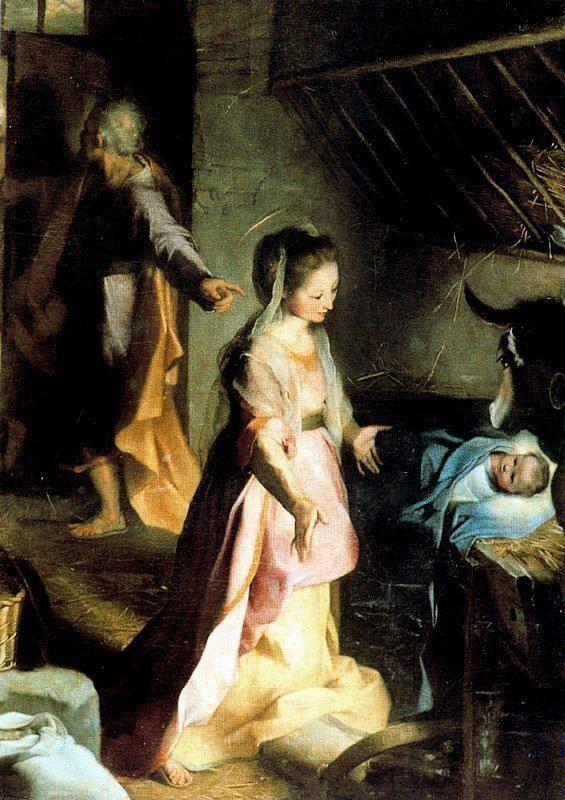 Federico Fiori  Barocci             The Nativity, 1597