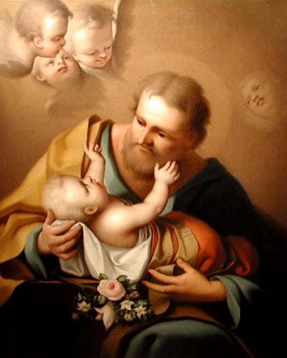 Jakob Seybold (1786-1844)    St.Joseph with Jesus