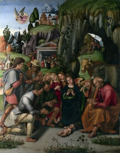 Luca Signorelli The Adoration of the Shepherds,1496