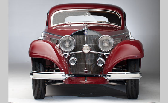 1936 Mercedes-Benz 540 K Special Coupe by Sindelfingen. -1