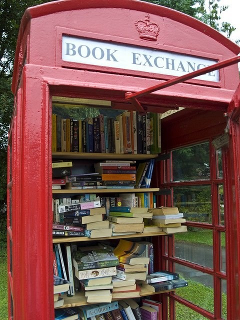 Book Exchange, London, England