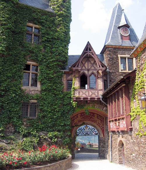 Castle Gate, Mosel Valley, Germany