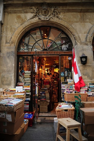 The Abbey Bookstore, Paris, France
