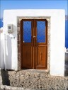 A Door to the Sea in Oia, Santorini  Greece (by MarcelGermain)