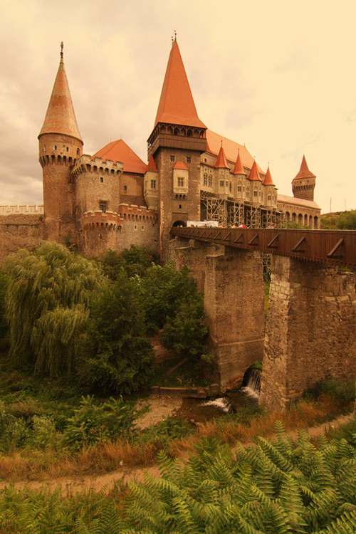 Ancient, Hunyad Castle, Romania