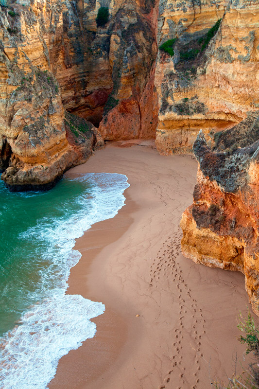 Dona Ana Beach, Lagos Portugal (by Michael Sweet)