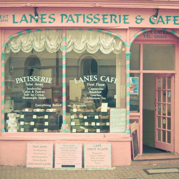 Lanes Patisserie & Café, Brighton - England (by Cassia Beck)