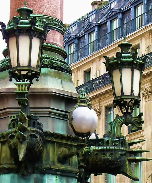 Lanterns, Paris, France