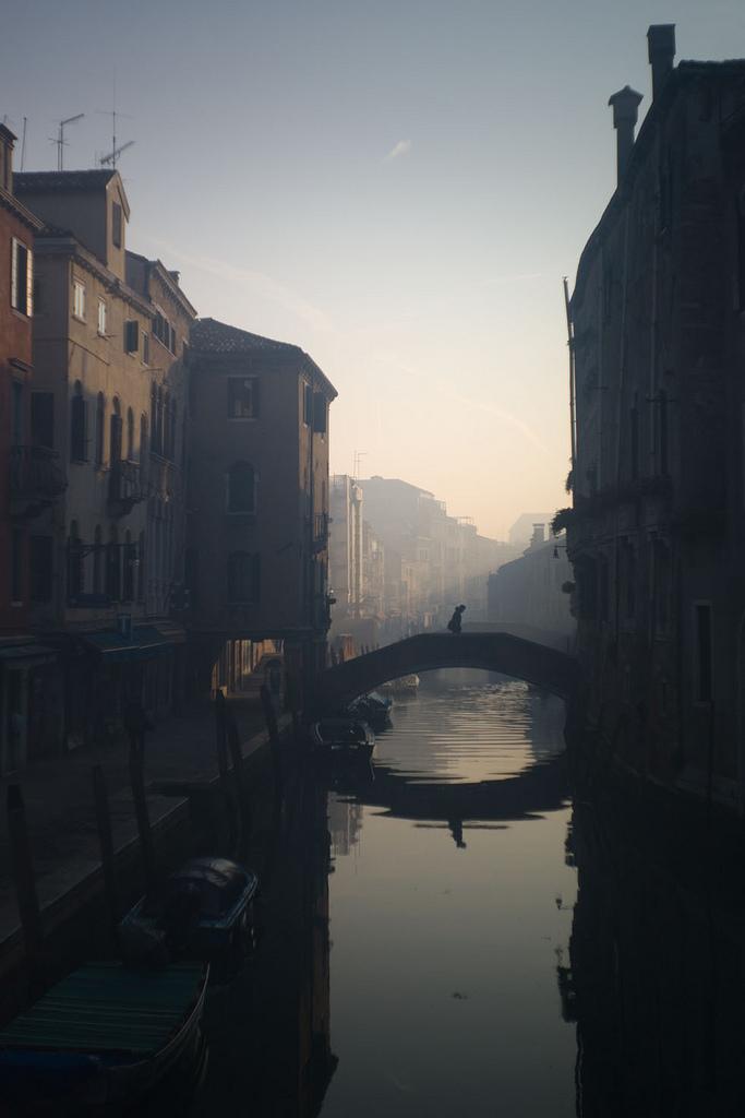 Misty Venice  Italy (by Alexander nomotion)