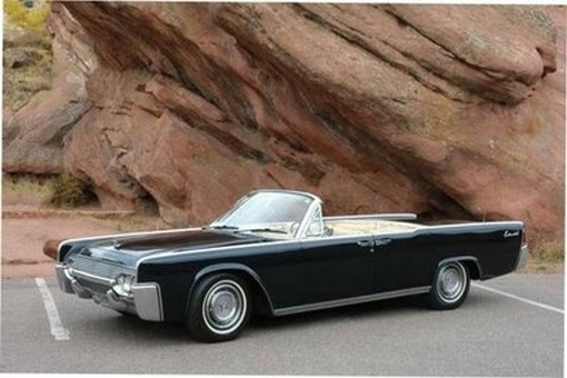 1961 Lincoln Continemtal Convertible