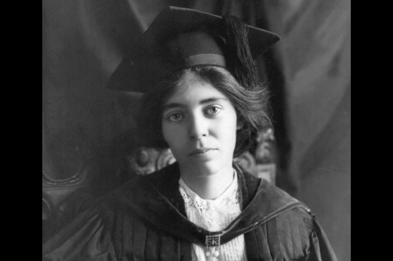 An activist for women's equality Alice Paul, 1913. Paul was born in New Jersey, received a master's degree and doctorate at the University of Pennsylvania,