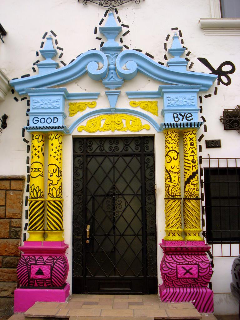 By Miguel Vera.Puerta Secreta