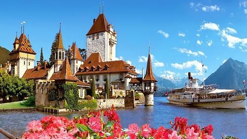 Castle Oberhofen, Bern, Switzerland