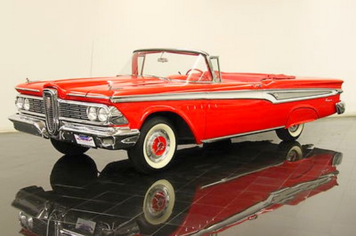 Edsel  Corsair Convertible 2-door Convertible RAR