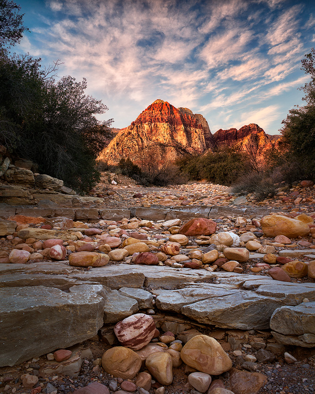 First-Light-Red-Rock-Canyon