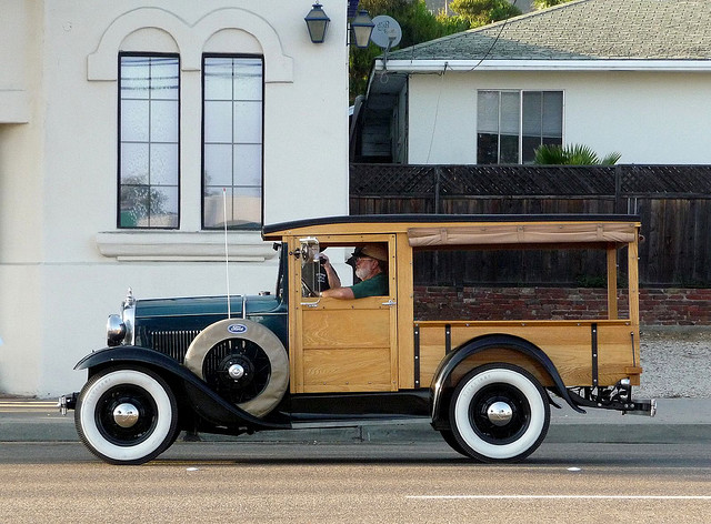 Ford Pick Up woodie